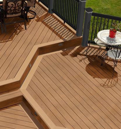 Composite decking materials for Best composite decking brand 2016